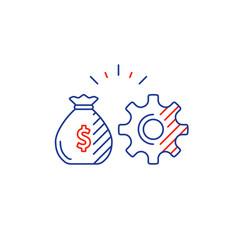business development innovation technology vector image vector image