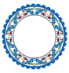 Antique Ottoman borders and frames series twenty vector