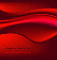 background with elegant beautiful red neon vector image