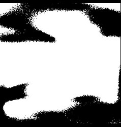 black and white distressed noise overlay vector image