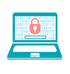 concept computer security vector image