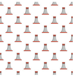 Cooling smoke tower pattern seamless vector