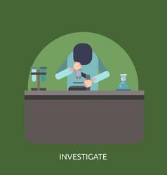 Investigate conceptual design vector