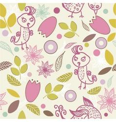Leafy wallpaper vector