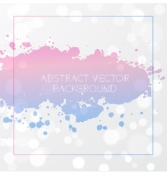 Rose quartz and serenity background vector image