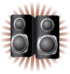 speaker loudspeaker vector image