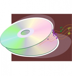 storage disk vector image