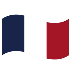flag France vector image