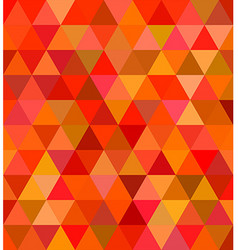 Abstract regular triangle tile mosaic background vector