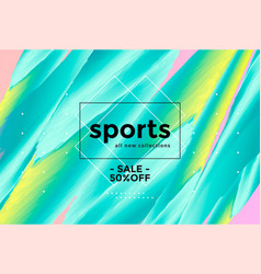 abstract sports background vector image