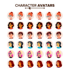 Avatar icon woman default placeholder vector