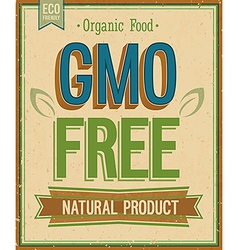 No GMO2 vector