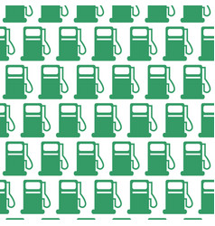 oil station pattern background vector image