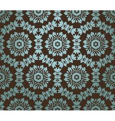 Vintage Floral Baroque Pattern vector image vector image