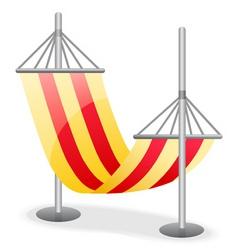 hammock vector image vector image