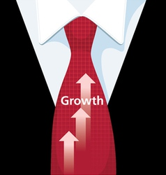 Business Growth vector image vector image