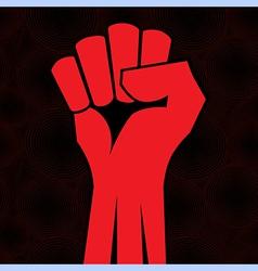 fist roun sea vector image