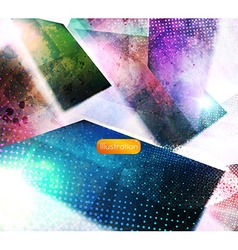 Abstract fantasy background vector