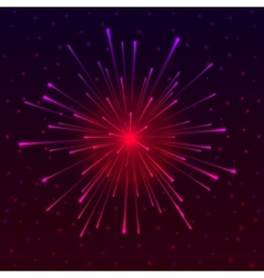 Celebratory fireworks vector