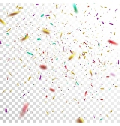 Colorful Confetti vector image