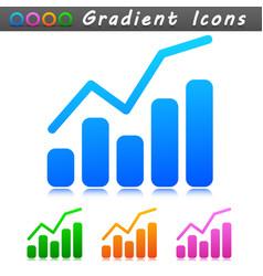 diagram symbol icon design vector image
