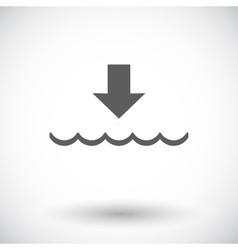Edd single icon vector