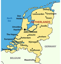 Kingdom of the Netherlands vector image