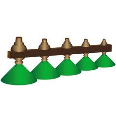 Lights green vector