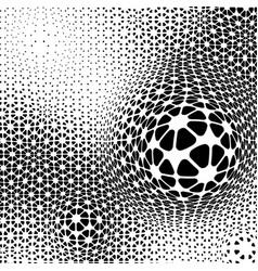 minimalistic abstract dots vector image
