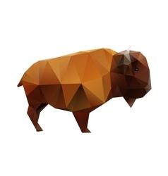 Polygonal Buffalo vector