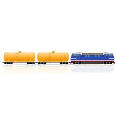 Railway train 17 vector
