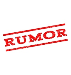 Rumor Watermark Stamp vector