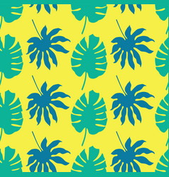 seamless pattern background with green and vector image