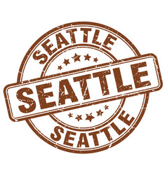 Seattle stamp vector