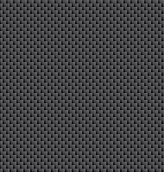 Tileable Carbon Fiber Weave Sheet Pattern vector image