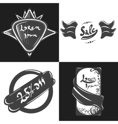 Labels and badges vector image