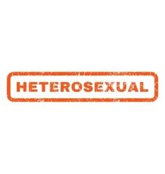 Heterosexual Rubber Stamp vector image