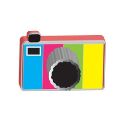 camera 3D vector image