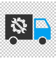 Equipment Truck Eps Icon vector