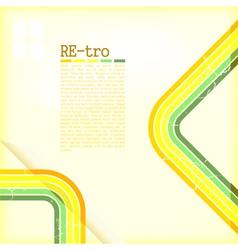 Retro Copyspace Background vector image