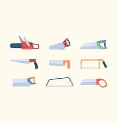 sawmills items jigsaw metal circular and manual vector image