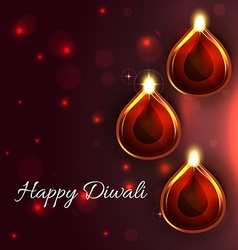 Background of diwali vector