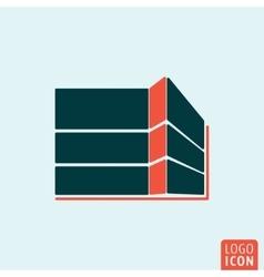 Building construction icon vector