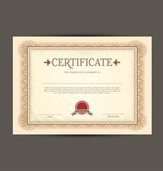 Certificate design background 0203 vector