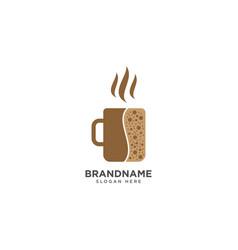 Coffee drink logo design symbol icon vector