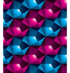 Geometric seamless pattern endless colorful vector