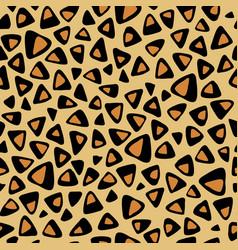 leopard seamless texture imitation vector image