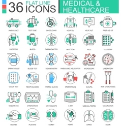 Medical healthcare medicine modern color vector