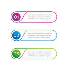 web template layout workflow outline vector image