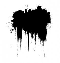 grunge element vector image